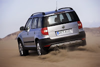 Skoda Yeti 4 Skoda: Powertrain Updates for 2011MY Octavia, Yeti and Superb Photos