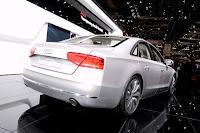 2011 Audi A8 Hybrid 42 Geneva Show: New Audi A8 Hybrid with 2.0 Liter 4 Cylinder Engine Photos