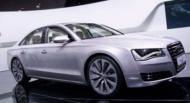 2011 Audi A8 Hybrid 0001 Geneva Show: New Audi A8 Hybrid with 2.0 Liter 4 Cylinder Engine Photos