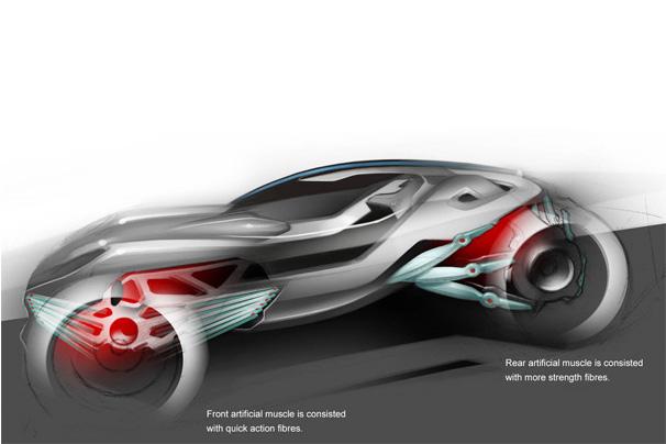 Mercedes-Cyborg