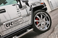 CFC Hummer Crome %284%29 CFC Proves Theres No Limit to Bad Taste with Chromed Out Hummer H2   Photos