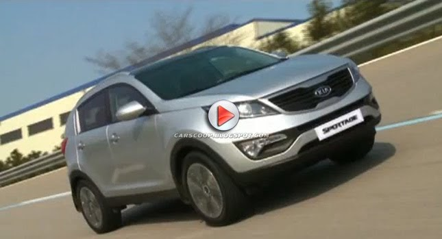 video 2011 kia sportage filmed on the road inside and out. Black Bedroom Furniture Sets. Home Design Ideas