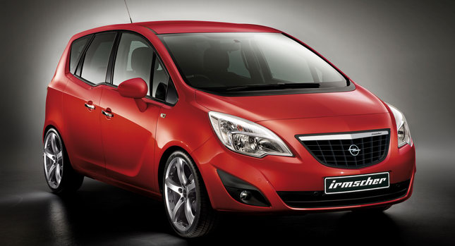 Irmscher Opel Meriva 001 Irmscher Facelifts the New Opel Meriva MPV photos, pictures
