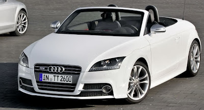 White New Cars Audi TTS