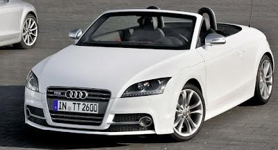 White New Cars Audi TTS