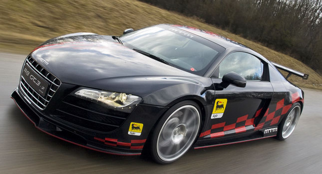 MTM Audi R8 RWD 001 MTM Rolls Out Audi R8 GT3 2 with RWD and 560 Ponies Photos