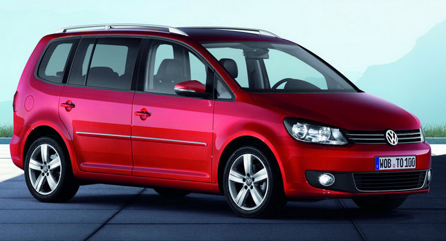 2011 volkswagen touran 7 seater mpv receives second mid life facelift. Black Bedroom Furniture Sets. Home Design Ideas