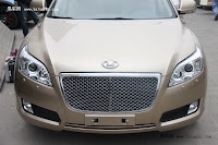 Huatai B11 116 Bentley Snout Part II: Huatais New B11 and B21 Sedan Snapped Ahead of Beijing Show
