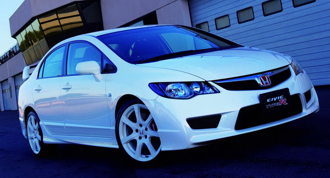 Honda Civic Type R Sedan 001 Honda to Terminate Civic Type R Sedan