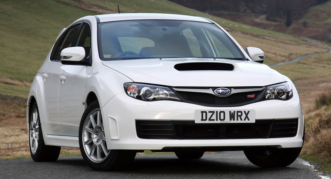Subaru Impreza WRX STI 0 Subaru UK Upgrades Impreza WRX & STI with Free Prodrive Performance Packs