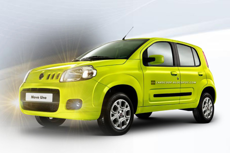 2011 Fiat Uno  First Official Photos Of New Italian Supermini