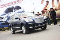 Huatai B35 Cayenne 1 Only in China: A Porsche Cayenne Clone with a Bentley Snout by Huatai