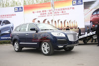 Huatai B35 Cayenne 6 Only in China: A Porsche Cayenne Clone with a Bentley Snout by Huatai