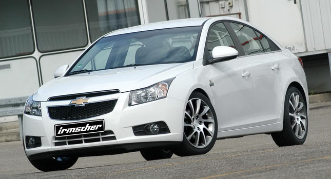 Chevrolet Cruze Irmscher Edition with 186HP