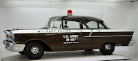 1957 Chevrolet Police Car 1 Copped out: 1957 Chevy Military Police Car for Sale
