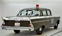 1957 Chevrolet Police Car 5 Copped out: 1957 Chevy Military Police Car for Sale