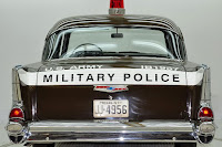 1957 Chevrolet Police Car 28 Copped out: 1957 Chevy Military Police Car for Sale