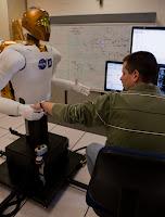 NASA GM Robonaut 05 GM Teams up with NASA to Create Robonaut R2 for International Space Station