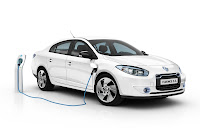 Renault Fluence ZE 1 Renault Reveals Production Versions of All Electric Fluence Z.E. and Kangoo Van Z.E
