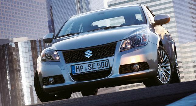 Suzuki Kizashi 001 Suzuki Kizashi Sedan Heading to Germany this Fall