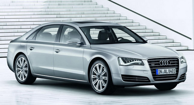 2011 Audi A8 L W12 01 New Audi A8 L with Long Wheelbase and 500HP 6.3 liter W12