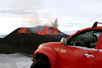 Toyota Hilux Iceland Volcano 67 Toyota Hilux Tackles Icelands Eyjafallajökull Volcano Hours Before Eruption