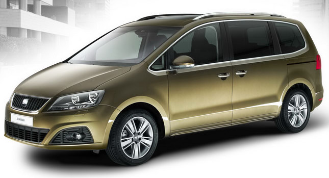2011 Seat Alhambra MPV 00 New Seat Alhambra MPV: VW Sharans Twin Brother Officially Revealed