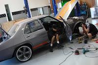 Folden Holden HQ Ford Mustang 22 The Folden: New Zealanders Create Half Holden HQ, Half Ford Mustang Mechanical Frankenstein