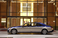 2011 Maybach 4 Beijing Auto Show: Maybachs Face lifted Offerings
