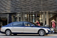 2011 Maybach 3 Beijing Auto Show: Maybachs Face lifted Offerings