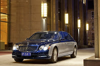 2011 Maybach 27 Beijing Auto Show: Maybachs Face lifted Offerings