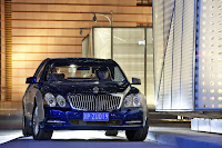2011 Maybach 13 Beijing Auto Show: Maybachs Face lifted Offerings