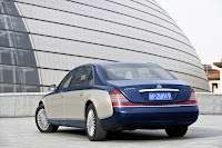 2011 Maybach 25 Beijing Auto Show: Maybachs Face lifted Offerings