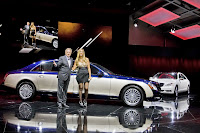 2011 Maybach 33 Beijing Auto Show: Maybachs Face lifted Offerings