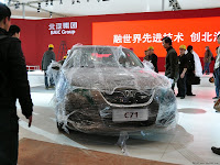 BAW C60 Saab 9 3 14 Chinas BAW Redoes the Saab 9 3: New C60 Sedan Snagged Ahead of Beijing Show