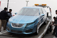 BAW C71 Saab 9 5 18 China Made Saab 9 5 by BAW: First Photos and Video