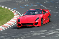 Ferrari 599XX 2 VIDEO: Ferrari 599XX Sets New Lap Record for Production Derived Sports Car at the Nurburgring