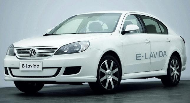 VW E Lavida 001 Volkswagen Presents E Lavida Study at Beijing Show