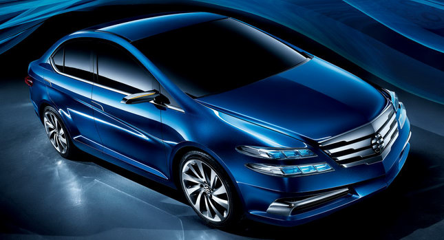 Honda Li Nian Everus 00 Beijing 2010: Honda Introduces Li Nian Everus Concept Sedan
