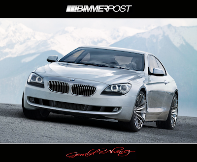 2011 BMW 6 Series 1 2011 BMW 6 Series Coupe Chopped from New Gran Coupe Concept