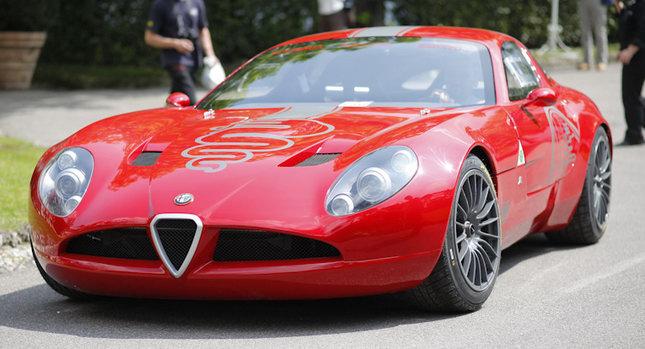 Zagato Alfa TZ3 Corsa 0 Zagato Alfa Romeo TZ3 Corsa Official Specs and Photo Gallery from Villa DEste Photos