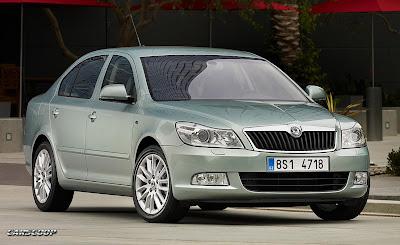 Skoda Octavia Facelift 2009