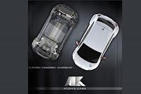 Atomik Fiat 500 EV 509 UK Debut for All Electric Fiat 500 Atomik at Salon Privé Photos
