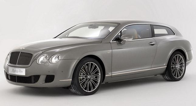 Bentley Touring Superleggera Flying Star 01 Is Bentley Considering a Shooting Brake Model Photos