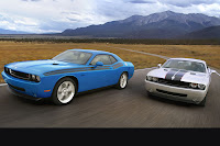 2009+Dodge+Challenger+SE+and+SRT8 Dodge Challenger 40 Years in Pictures Photos