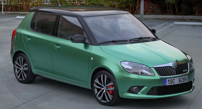 Skoda Fabia vRS 0 Skoda Launches Spicy Fabia vRS Models in the UK Photos