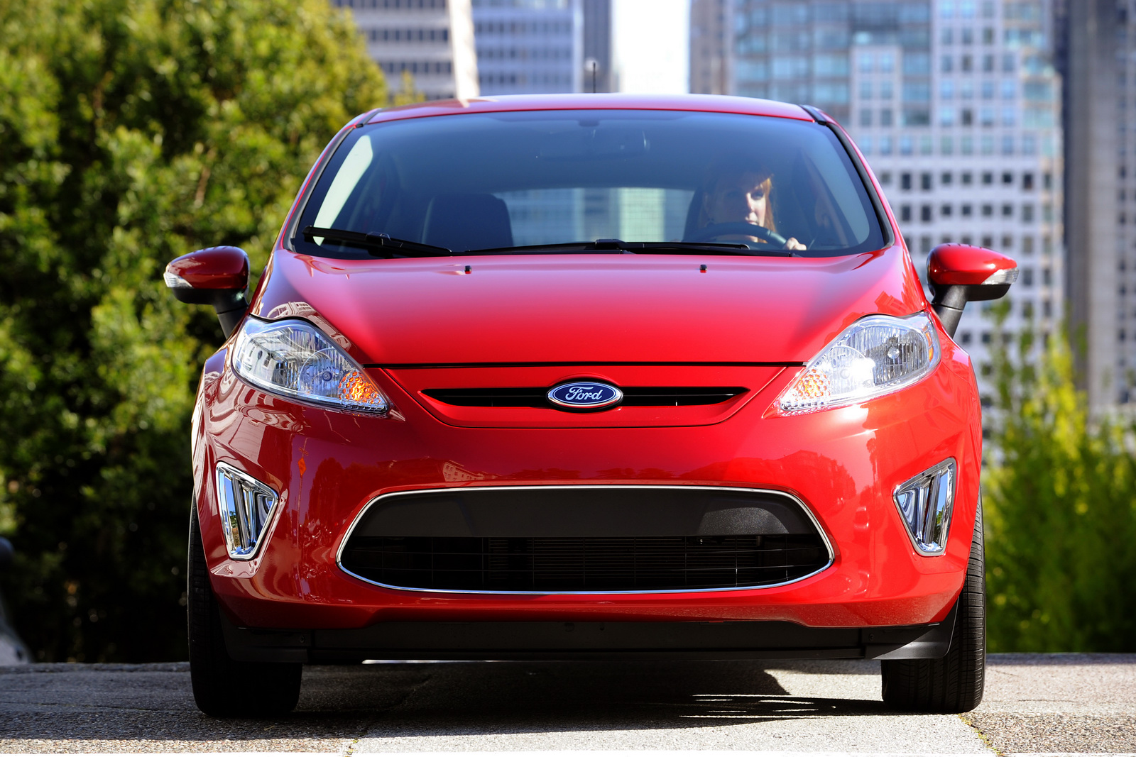 car ford new ford fiesta rated at 40mpg highway and 29mpg. Black Bedroom Furniture Sets. Home Design Ideas