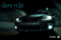 02 Dark ride PR images Lexus Debuts Interactive Film for CT 200h Compact Hybrid Photos