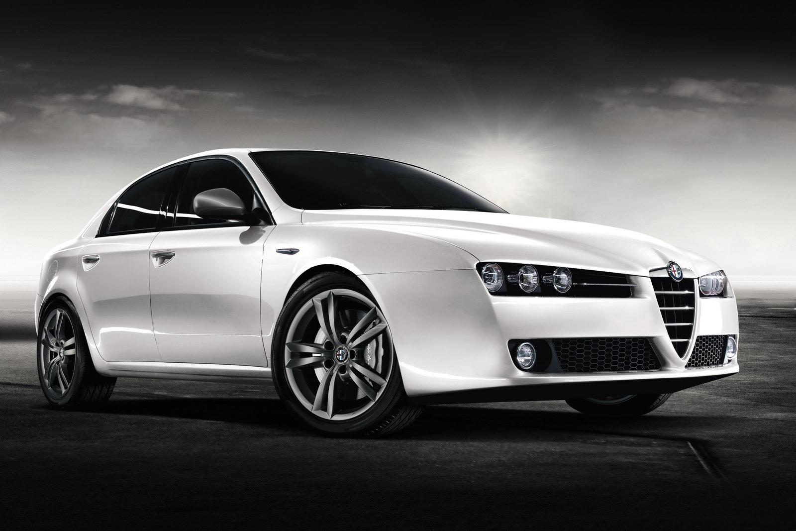 the car alfa romeo debuts 2011my 159 sedan and sportwagon. Black Bedroom Furniture Sets. Home Design Ideas