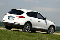 Infiniti Launches Second Diesel Model  EX30d On Sale in Europe from July Photos